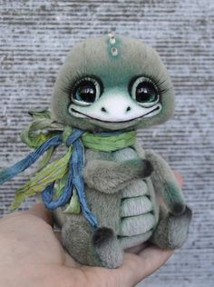 Little dinosaur Spike By Xenia Miletskaya - Bear Pile