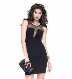 Vestito nero zuiki collezione
