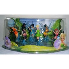 Disney, Tinker Bell and her friends Fairies, figurine Playscene Set