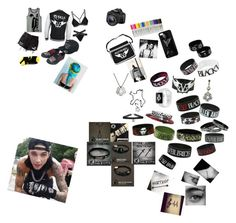 """""""Meeting Andy"""" by lexaguilbert on Polyvore featuring Hot Topic, Sharpie, Eos and CO"""