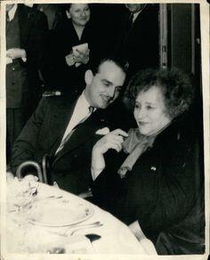 Colette et le Prince Rainier de Monaco, en 1953 - Maxppp