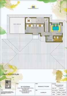 Floor plan and elevation of 3065 square feet kerala traditional home design by r it 3d House Plans, Indian House Plans, Model House Plan, Courtyard House Plans, House Layout Plans, Home Design Floor Plans, Dream House Plans, House Layouts, Kerala Traditional House