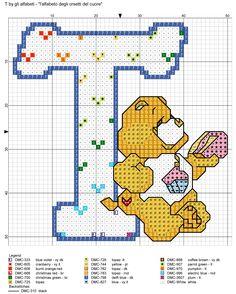 alfabeto degli orsetti del cuore: T