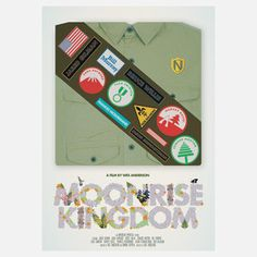 Moonrise Kingdom 11.7x16.5 now featured on Fab.