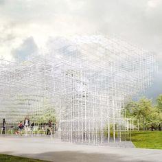 Sou Fujimoto designs  Serpentine Gallery Pavilion