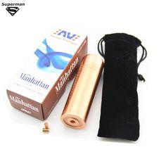 210.00$  Buy now - http://alilk2.worldwells.pw/go.php?t=32242205662 - 10pcs Manhattan Mod 1:1 Clone Mechanical Mod Fuhattan Mod  fit for 18650 batteries box mod electronic cigarette mods vaporizer