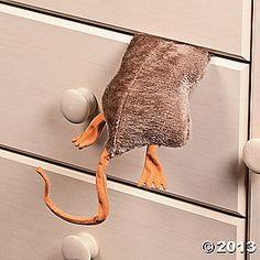 Plush Stuck Rat Decoration