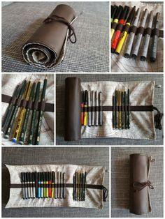 Federmappe für Stifte