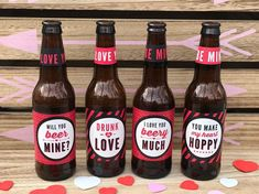 Valentine's Day Beer Labels Valentine Gifts for Him