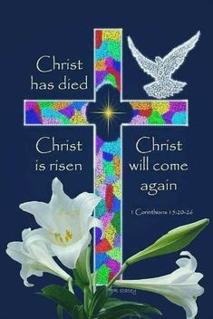 Christ Will Some Again easter jesus jesus christ easter quotes easter images easter quote happy easter happy easter. easter pictures funny easter quotes good friday easter weekend happy easter quotes quotes for easter Resurrection Day, He Has Risen, Jesus Has Risen, Stain Glass Cross, Christ Is Risen, Holy Week, Lord And Savior, Christian Inspiration, Bible Scriptures
