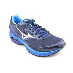 Mizuno Wave Rider 16 Mens Size 12.5 Blue Running Shoes New/Display