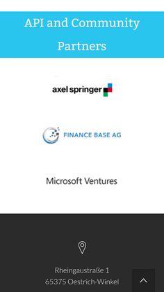 Wir gehören zu den ersten Partner des Financial Hackathon