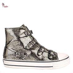 Ash Chaussures Virgin Baskets Femme 40 EU Piombo - Chaussures ash (*Partner-Link)