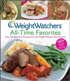 Weight Watchers All-Time Favorites: Over 200 Best-Ever Recipes from the Weight Watchers Test Kitchens :  This full-color cookbook is an exciting collection of the best recipes ever developed by the experts at Weight Watchers—225 tempting dishes never before presented in book form. It's packed with weight watchers recipes that you'll love, whether you're cooking for a weeknight family supper, a casual backyard get-together with neighbors, or a festive gathering with friends.