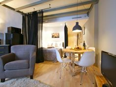Barcelona SSG Ramblas Studios Apartments Spain, Europe SSG Ramblas Studios Apartments is conveniently located in the popular La Rambla area. The hotel offers a high standard of service and amenities to suit the individual needs of all travelers. Service-minded staff will welcome and guide you at the SSG Ramblas Studios Apartments. Guestrooms are fitted with all the amenities you need for a good night's sleep. In some of the rooms, guests can find television LCD/plasma screen, ...