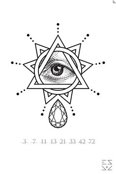 All seeing eye tattoo Tattoo Sketches, Tattoo Drawings, New Tattoos, Cool Tattoos, Illuminati Tattoo, Illuminati Drawing, All Seeing Eye Tattoo, Tatoo Art, Art Plastique