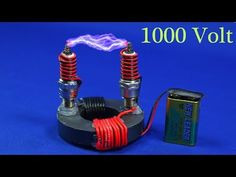 FREE ENERGY HIGH VOLTAGE GENERATOR 9V TO 1000 WATT NEW TECHNOLOGY 2019 NEW ELECTRICITY PROJECT - YouTube Diy Electronics, Electronics Projects, Diy Generator, Tesla Generator, Cool Experiments, Electronic Schematics, Electrical Projects, Energy Projects, Arduino Projects