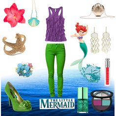 """""""the little mermaid #1"""" by isabell14 on Polyvore"""