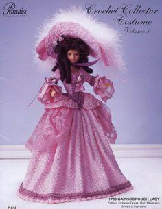 Barbie, Crochet Collector Costume Vol. 8