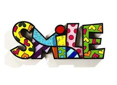 Romero Britto Word Series