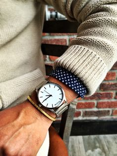 clean and simple, silver watch by @mvmtwatches - menswear watch style & fashion