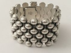 "1940's Sterling Silver Georg Jensen ""Onion"" Bracelet on Etsy, $3,500.00"