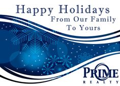 We Wish You All A Very Merry Christmas, Happy Holidays and A Great New Year!