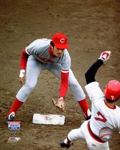 Dave Concepcion - Cincinnati Reds - World Series (1975) Rick Burleson, BOS