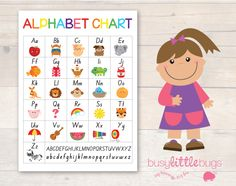 Just discovered this awesome website. Hundreds of printables for free or to buy. This alphabet chart is one of the free ones. By an Aussie lady!