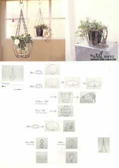 Love the aluminum love life Diy Arts And Crafts, Diy Craft Projects, Crafts To Make, Fun Crafts, Wire Crafts, Metal Crafts, Barbie Diorama, Diy Décoration, Wire Baskets