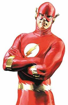 DC Heroes painted 6-Flash-Alex Ross