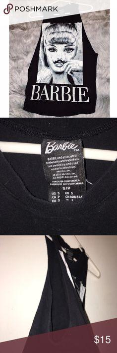 Barbie Muscle T Shirt Barbie Muscle T Shirt Barbie Tops Muscle Tees