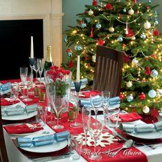 Saúde Sem Glúten: Especial Natal: Decoração de Mesas (I)