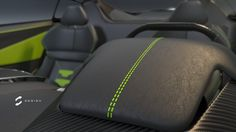 XGT Roadster concept, rendered in KeyShot by Sebas Gomez.