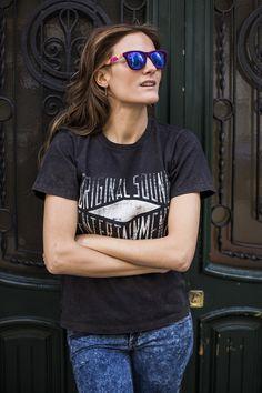 Cristina Blanco, del blog GUIADEESTILO, con la gafa de sol 41 modelo FREEDOM / FO15001 en color 87. Post original: http://guiadeestilo-guiadeestilo.blogspot.com.es/2014/02/41-eyewear-special-giveaway.html. La puedes encontrar en nuestra tienda online: http://41eyewear.com/tienda_online #guiadeestilo #41eyewear #gafasdesol #sunglasses #glasses #eyeglasses #eyewear #gafas #gafasdemoda #shopping  #shoppingonline #shoponline #tiendaonline #compraronline #blogueras #bloguerasdemoda #bloggers