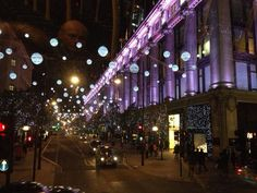 """Oxford St lights part 2 - Selfridges. #londonxmas  LONDON Christmas 2013"