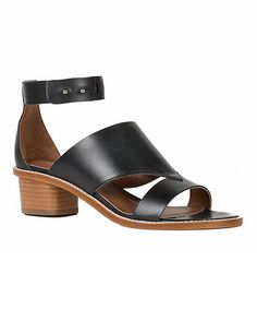 Loving this Black Nalani Leather Sandal on #zulily! #zulilyfinds