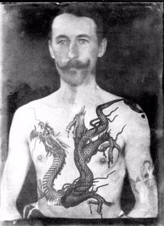 Tatted Up in Victorian Times: Fascinating Photos Show the Work of Sutherland Macdonald, One of the First British Tattoo Artists Victorian Tattoo, Victorian Art, Monami Frost, Flash Art, Sailor Jerry, William Adolphe Bouguereau, Le Kraken, British Tattoo, Zealand Tattoo