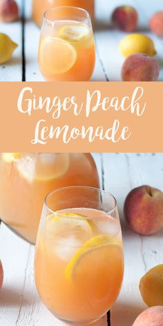 Peach Lemonade Enjoy a glass of this refreshing Ginger Peach Lemonade on a hot summer day! Enjoy a glass of this refreshing Ginger Peach Lemonade on a hot summer day! Peach Lemonade Enjoy a glass of this refreshing Ginger Peach Lemona Refreshing Drinks, Cold Drinks, Fun Drinks, Yummy Drinks, Healthy Drinks, Healthy Eats, Healthy Lemonade, Summer Beverages, Peach Lemonade Recipes