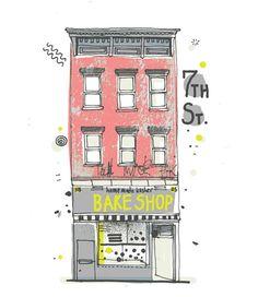 Illustrated New York-James Gulliver Hancock graphics
