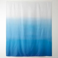 Ocean Blue Watercolor Pastel Ombre Minimalism Tapestry - home gifts ideas decor special unique custom individual customized individualized Pastel Ombre, Blue Ombre, Blue Tapestry, Freedom Design, Dream Rooms, Blue Fashion, Home Gifts, Vivid Colors, Minimalism