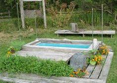 Bildresultat för outdoor shower drain
