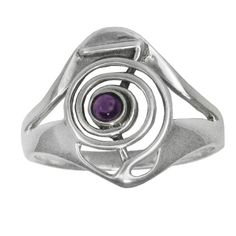 Sterling Silver Cho Ku Rei Reiki Ring Power Symbol with Amethyst Gemstone (sz sz 9 – Jewelry from Selena Cho Ku Rei, Reiki Symbols, My Birthstone, Chakra Stones, Amethyst Stone, Birthstones, Mystery, Rings For Men, Silver Rings