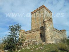 Castillo de Nogales, Comarca de los Llanos de Olivenza, Badajoz. Extremadura, Spain.