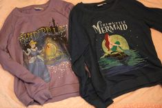 Little Mermaid sweatshirt.