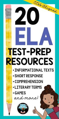 Browse over 160 educational resources created by Read Relevant in the official Teachers Pay Teachers store. Middle School Reading, Middle School English, 4th Grade Ela, Third Grade, Literary Terms, Common Core Reading, Writing Lessons, Writing Prompts, Reading Strategies