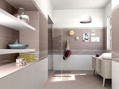 Obklady a dlažby do koupelny série Habitat nabízíme v neutrálních přírodních barvách, které se hodí do jakékoliv koupelny. #keramikasoukup #koupelnyodsoukupa #koupelnyinspirace #basic #bathroom #modern #inspirace #inspiration Alcove, Habitats, Bathtub, Bathroom, Standing Bath, Washroom, Bathtubs, Bath Tube, Full Bath