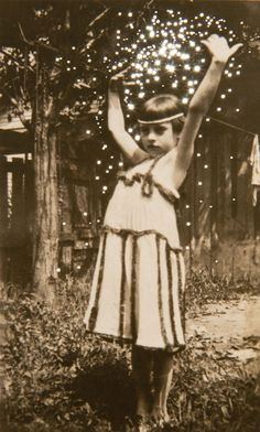 Daré alla Lucé by Canadian artist/photographer Amy Friend.  Our Little Dancing Girl, Evelyn, age 9