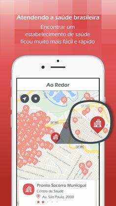 HospitalPlus • ScreenShots • Tela Ao Redor • iOS • Design Mobile