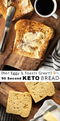 The best keto bread recipes for ketosis, low carb bread recipes and easy to make bread recipes. No Bread Diet, Low Carb Bread, Low Carb Keto, Keto Fat, 90 Second Keto Bread, Best Keto Bread, Paleo Bread, Paleo Diet, Glutenfree Bread